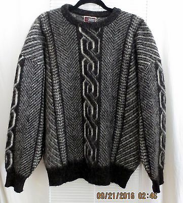 Vintage Samband of Iceland Akureyri Made in Iceland  Wool Size Large '70s
