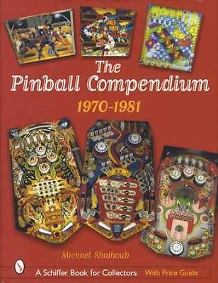 Vintage Pinball Games Ref Guide 1970 - 1981 Williams & Other Machines