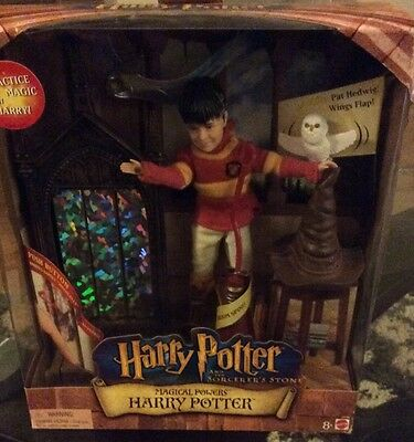 Harry Potter Magical Powers Doll Set NRFB Mattel 2001