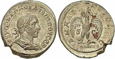 FORVM Philip I Billon Tetradrachm Rome(?) or Antioch(?) Extremely Fine