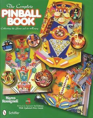 Complete Pinball Collecting & History Guide 3rd Ed incl Bally Gottliebs Etc