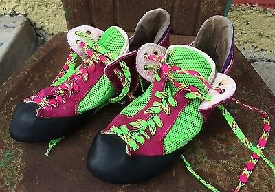 Vintage One Sport Climing Shoes - Size 9 - Italy - Retro - 80's - Womens