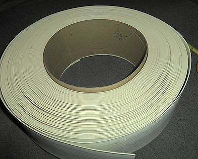 "4 1/4"" x 120' White Cream ? Vinyl Wall  Base Cove Moulding in Roll 120"""