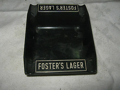 A Vintage 60's Australian Fosters Lager Plastic Ashtray by Dendy Point Melbourne
