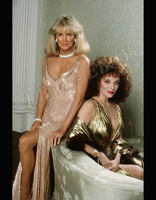 DYNASTY: Linda Evans and Joan Collins Photo.