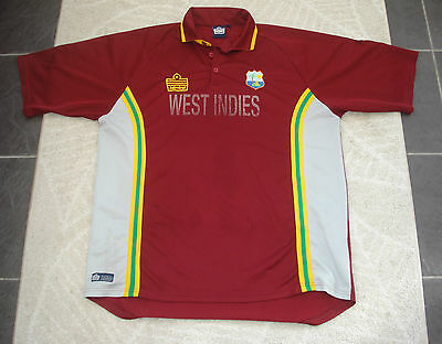 Vintage Extra Large West Indies Cricket Shirt Admiral