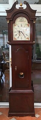 Westminster Chime Grandfather Clock By Edwards Of Monmouth