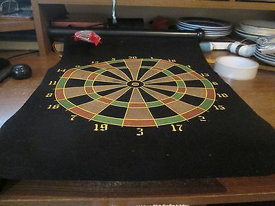 Magnetic roll up darts board.  brand new