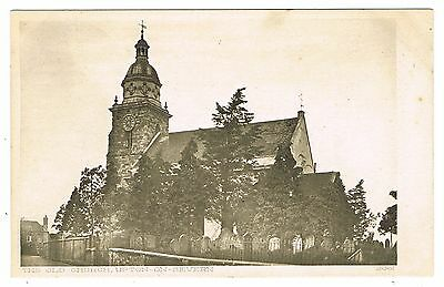Early Postcard - The Old Church & Graveyard Upton-on-Severn Worcestershire