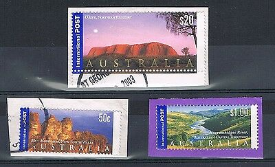 Australia International Post - Fine to Good Used Stamps on Paper - Cat £42+