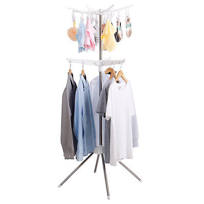 Lifewit Collapsible Clothes Drying Rack 2 Tier Sock Dryer Laundry Hanger
