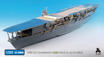 Tetra Model Works 1/350 IJN Aircraft Carrier Kaga Detail-up Set for Fujimi kit