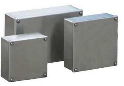 Tempa Pano STAINLESS STEEL JUNCTION BOX - SSJB202008 -200mm W x 200mm H x 80mm D