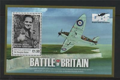 British Indian Ocean Territory 2010 Battle of Britain MS SG 437 MNH