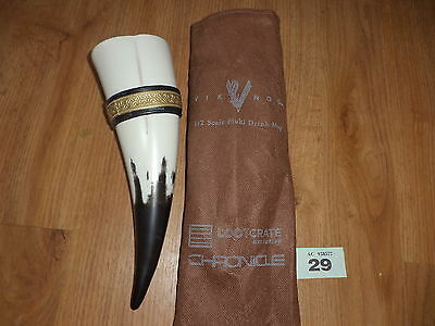 Viking drinking horn reinactment cup