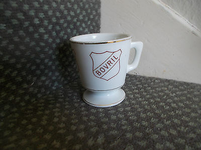 Vintage Retro Hot BOVRIL Drink Mug Cup Chunky Victory China 1930s Bargain BiN
