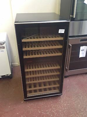 *Baumatic BWC1215SS Wine Cooler - Black / Stainless Steel #102794