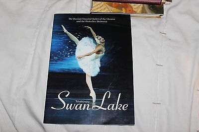 Swan Lake Programme, Russian Classical Ballet Of Ukraine 2006