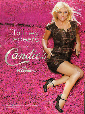 2009 Print Ad Candie's with Britney Spears/Shoes/ (071013)