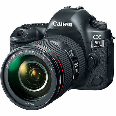 Canon EOS 5D Mark IV DSLR Camera Kit with 24-105mm f/4L II Lens UU