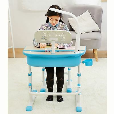 Ergonomic Desk & Chair - Blue - New Kids Furniture Homework School
