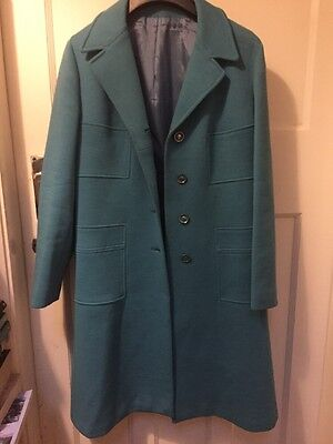 Mod 50s/60s Pure Wool Coat Vintage