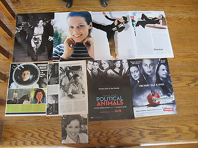 Sigourney Weaver Fr. Us Clippings Poster Last Chance!
