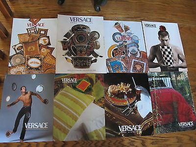 Versace Home Signature Nice Lot Print Ads,clippings