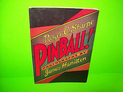 Pinball by Roger C. Sharp Vintage 1977 Pinball Machine History Book 190+ Pages