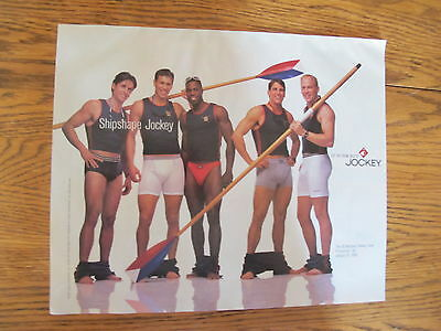 Vint. 1998,jockey Men Underwear Print Ad,last Chance!