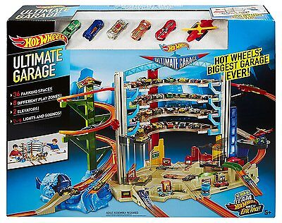 Brand New Hot Wheels CMP80 Mega City Parking Garage 1:64 Scale Ages 5 Years+