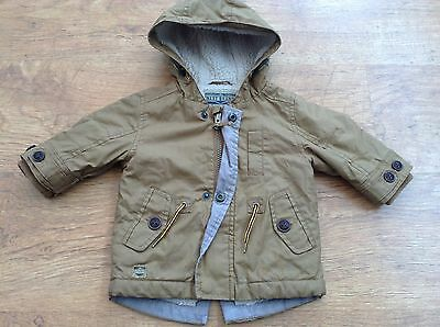 *** Next  *** Baby Boys  Hooded Fur Lined Jacket 3-6Mths