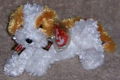 DARLING DOG Ty Beanie Baby MINT WITH MINT TAGS