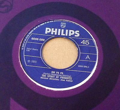 SPIRIT OF PROGRESS - OM PA PA - UK PHILIPS orig Beat Bespoke style dancer HEAR