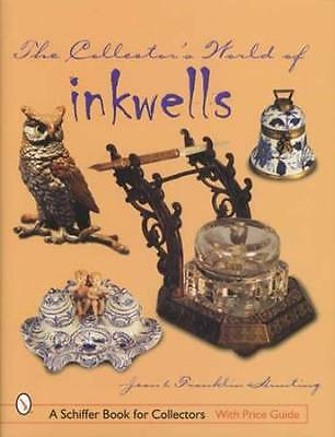 Antique Inkwells Collector Ref Guide incl Victorian, European Porcelain & More