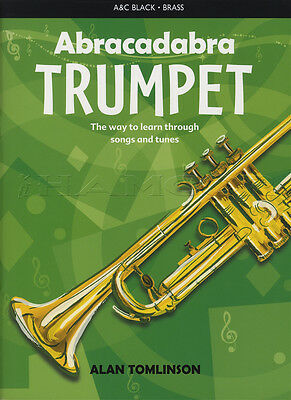 Abracadabra for Trumpet Sheet Music Book Learn How To Play Method Songs & Tunes