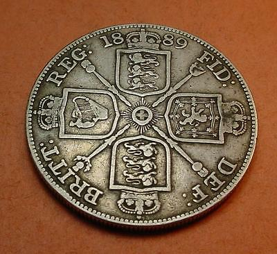 Great Britain Double Florin 1889  <>Br615