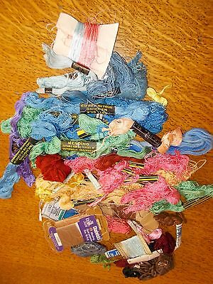 Job Lot Vintage Sewing Embroidery Mending Threads