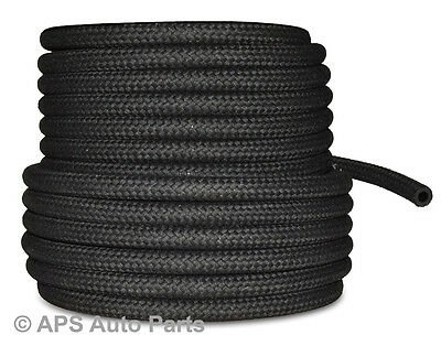 New Cotton Braided Rubber Fuel Hose for Unleaded Petrol/ Diesel Oil Line Pipe