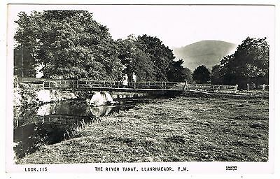 1965 Real Photo PC - The River Tanat - Llanrhaeadr Y.M. Montgomeryshire Wales