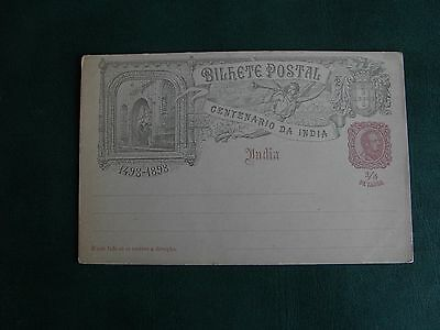 Early Five Hundred Year Centenary Of India Postcard - 1498-1898 - Signed.