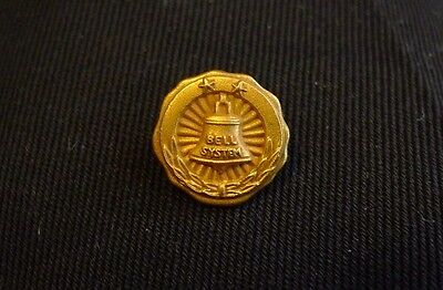Vintage Bell Telephone System Employee Service  Award Pin No Reserve