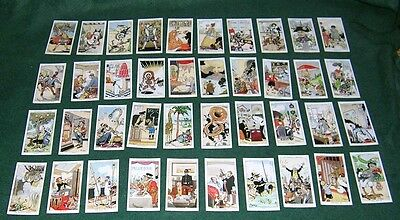 Howlers Full Set Of 40 Churchman Cards