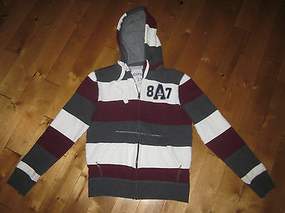"AEROPOSTALE Men's Small chest= 38""  Fleece HOODIE Zippered TRACK suit JACKET"