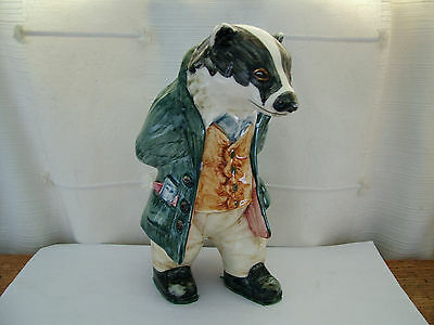 Cinque Ports Pottery Rye Country Gentlemen / Wind in Willows William Badger