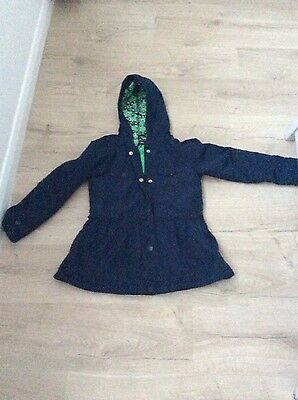 girls navy coat age   10 from Next