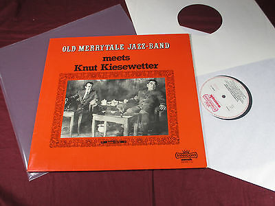 Old Merrytale Jazz-Band  MEETS KNUT KIESEWETTER - LP Intercord aamok sehr gut