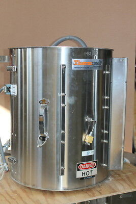 Split tube furnace, Vertical, 10500 W, 2200degF, TSP, Thermcraft