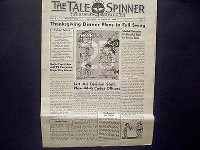 Newspaper - The Tale Spinner - Military Newspaper - 1943