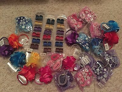Job Lot of Hair Bobbles and clips